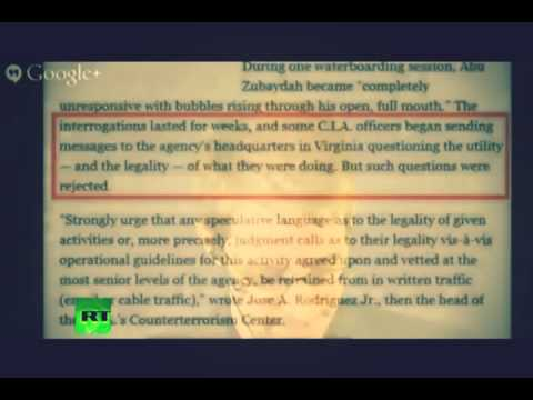 Snowden on CIA torture report : US commited inexcusable crimes (FULL)