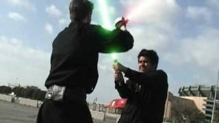 Lightsaber Fight After Effects Class Final Project