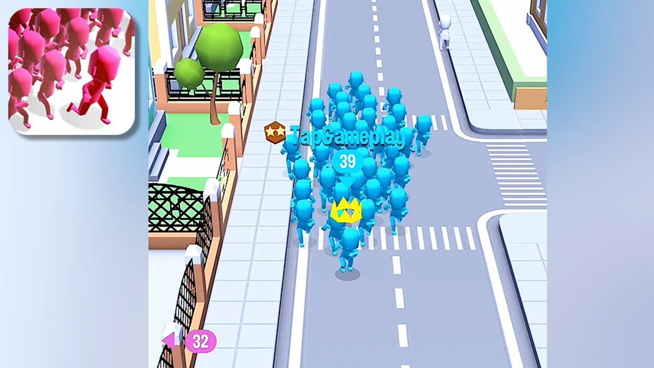 Image result for Crowd City game