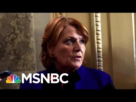 Lawrence: Heidi Heitkamp Shows Us A Profile In Courage | The Last Word | MSNBC