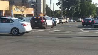 LAPD Ford Explorer Responding