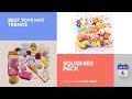 default - WATINC Random 10 pcs Squishies Cream Scented Slow Rising Kawaii Simulation Lovely Toy Medium Mini Soft Food squishies, Phone Straps (10P Donuts)