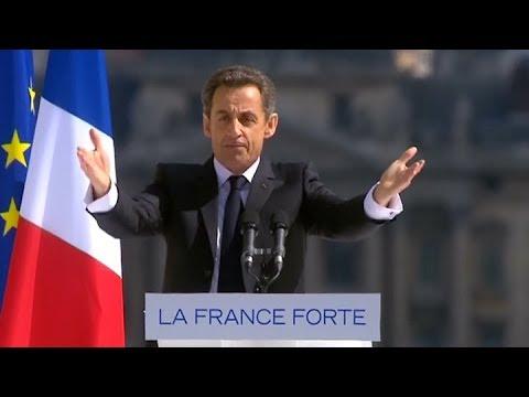 Sarkozy declara, bajo arresto, por la supuesta financiación Libia de su campaña