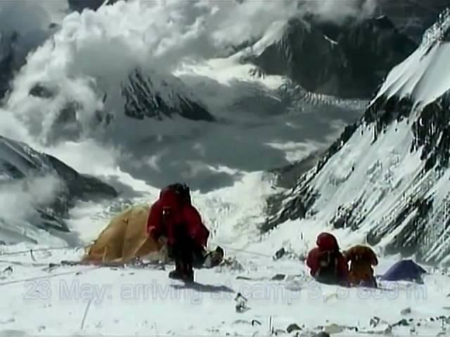 Mount Everest, 8850m. Philippe Gatta