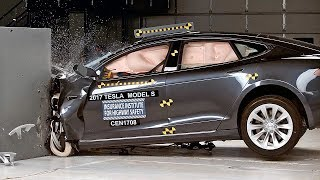 Tesla Model S (2017) IIHS Crash Test – Acceptable Results
