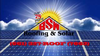 Commercial Solar in Bakersfield with BSW Roofing and Solar