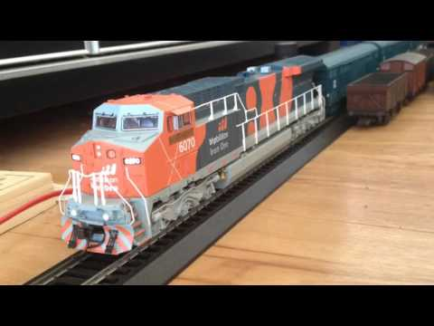 Model Railways 33 - Australian model trains - BHP Billiton AC6000 class 6070 DCC sound