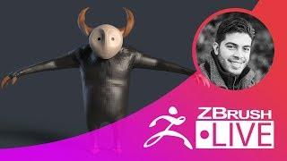 ZBrush Guides: 2D Sketch to Blockout - Pablo Muñoz Gómez - Episode 14