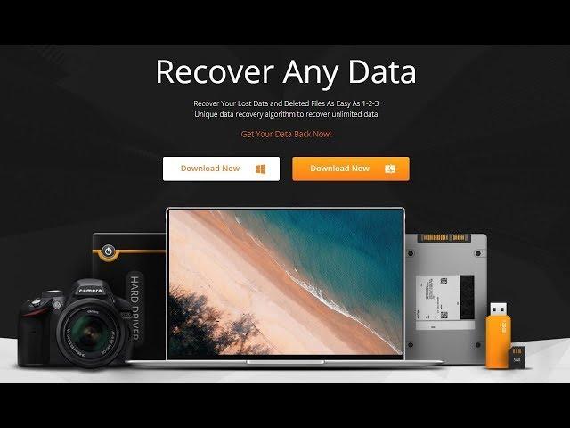 iMyFone AnyRecover, Recupere Qualquer Arquivo, Foto ou Vídeo!