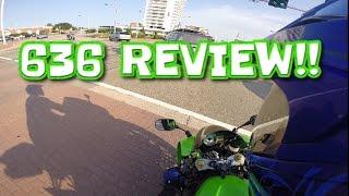Yummi On A Kawasaki 636 + Review!