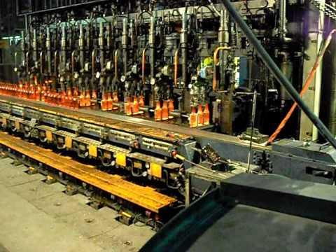 glass bottle manufacturing machine
