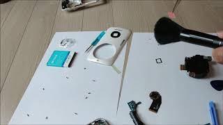 삼성 갤럭시줌2 2번째 분해 / 센서,렌즈 먼지 청소