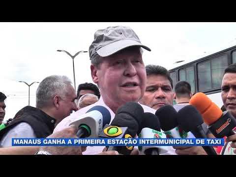 Manaus ganha a primeira estação intermunicipal de táxi