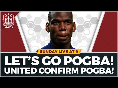 Manchester United confirm POGBA! Transfer News