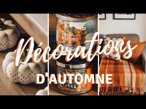 DÉCORATIONS D'AUTOMNE | Décoration De Mon Appartement