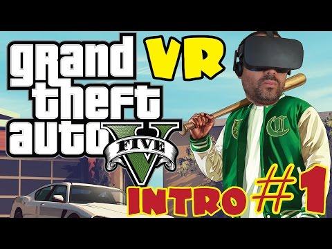 GTA V EN REALIDAD VIRTUAL #1 | Introducción Michael y Trevor - Oculus Rift CV1