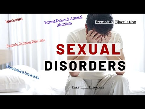 Sexual Disorders Explained Clearly!!!