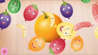 #пазлы Изучаем фрукты когда собираем пазлы. Учим слова для детей 1-3 года. Обучающее видео для детей