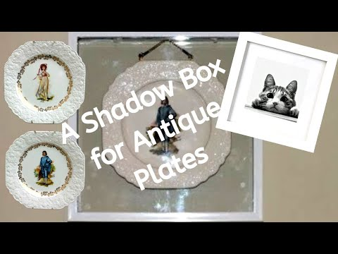 dollar-store-shadow-boxes-for-antique-plates