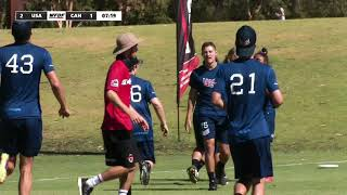 2018 WU24UC - USA v Canada Mixed Semi FInal Day 6 - Reupload