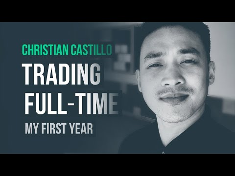 My First Year Trading Full-Time · Christian Castillo (Forex)