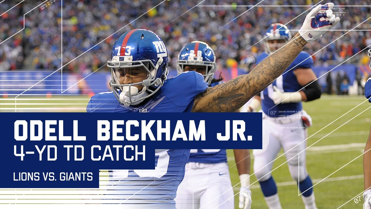 Odell's Stellar Snag on 3rd Down & One-Handed TD Catch ...