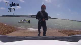 Brighton Jet ski Jumping  sea doo rxp 300 wave jumping (sussex marine)