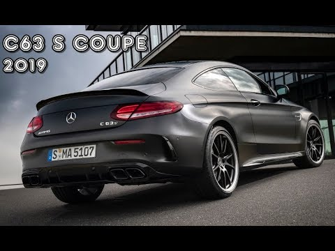 C63 Amg Coupe >> 2019 Mercedes Amg C63 S Coupe Graphite Grey
