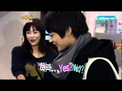 [Vietsub] Minho-Hara in king of idol.cut