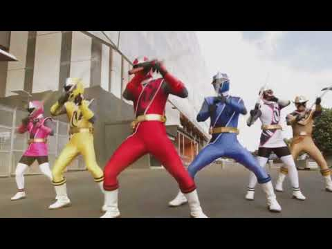 Power Rangers Super Ninja Steel Opening(Karaoke)