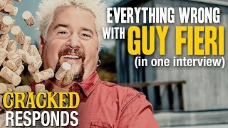 What Happens When A Society Leaves Guy Fieri Unchecked - Cracked Responds