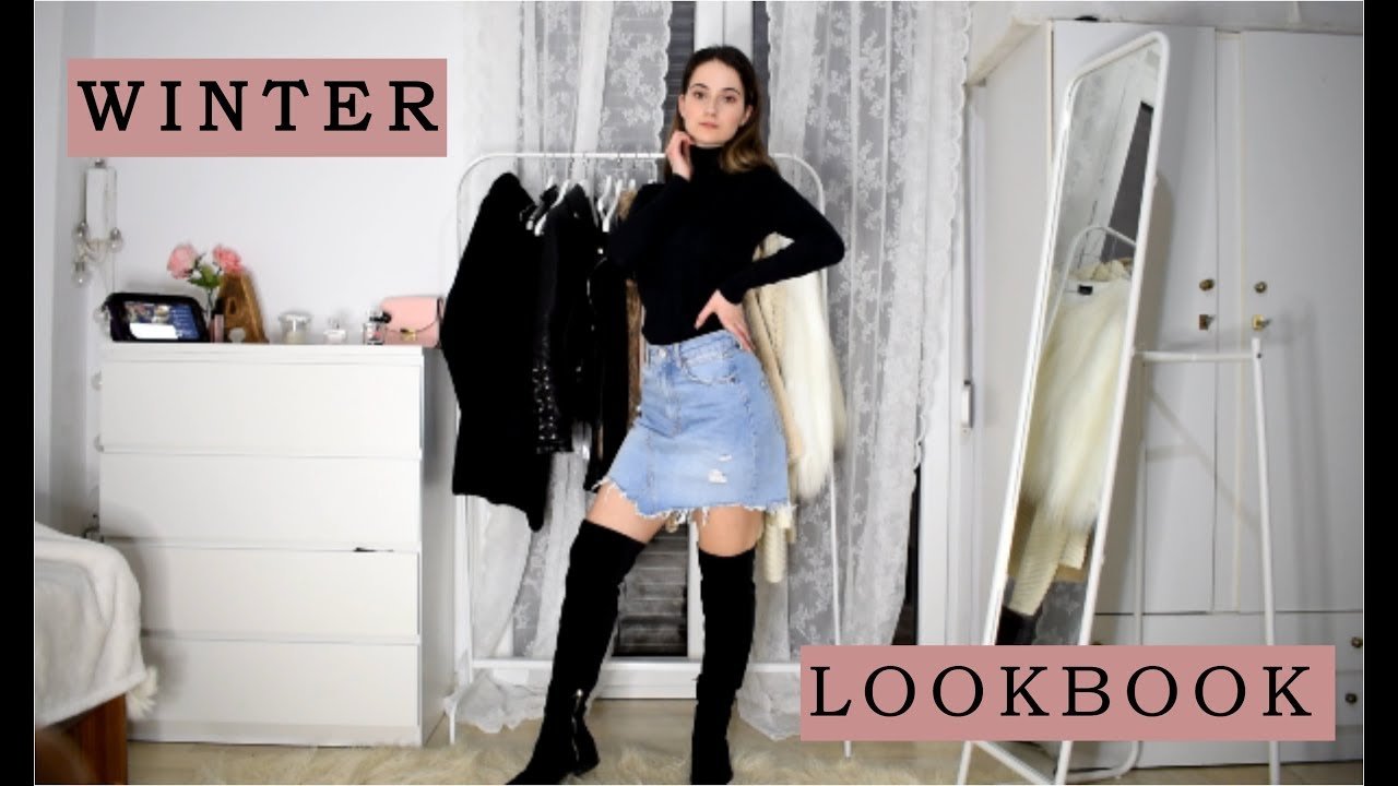 Winter lookbook 2019   Simple Outfit Ideas for winter   Athanasia Kalouda