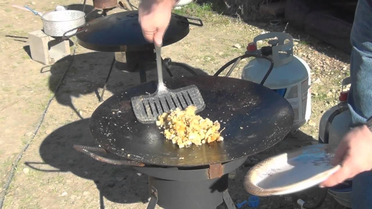 Cowboy Wok Or Discada Outdoor Cooking