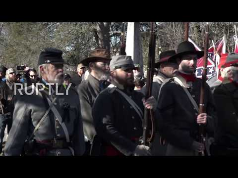 USA: Virginia honours Confederate civil war generals on LeeJackson Day