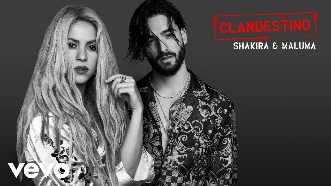 Shakira, Maluma - Clandestino (Audio)