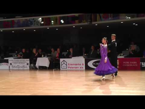 Adult Standard Final Presentation Dances | Copenhagen Open 2015
