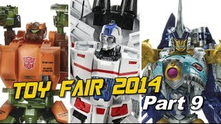 Excited about Roadbuster, Skybyte, Jetfire - New York Toy Fair 2014 Coverage Part 9