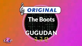 [KPOP MR 노래방] The Boots - 구구단 (Origin Ver.)ㆍThe Boots - GUGU…
