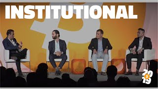Bitcoin 2019: Trends in the Institutionalization of Bitcoin Markets