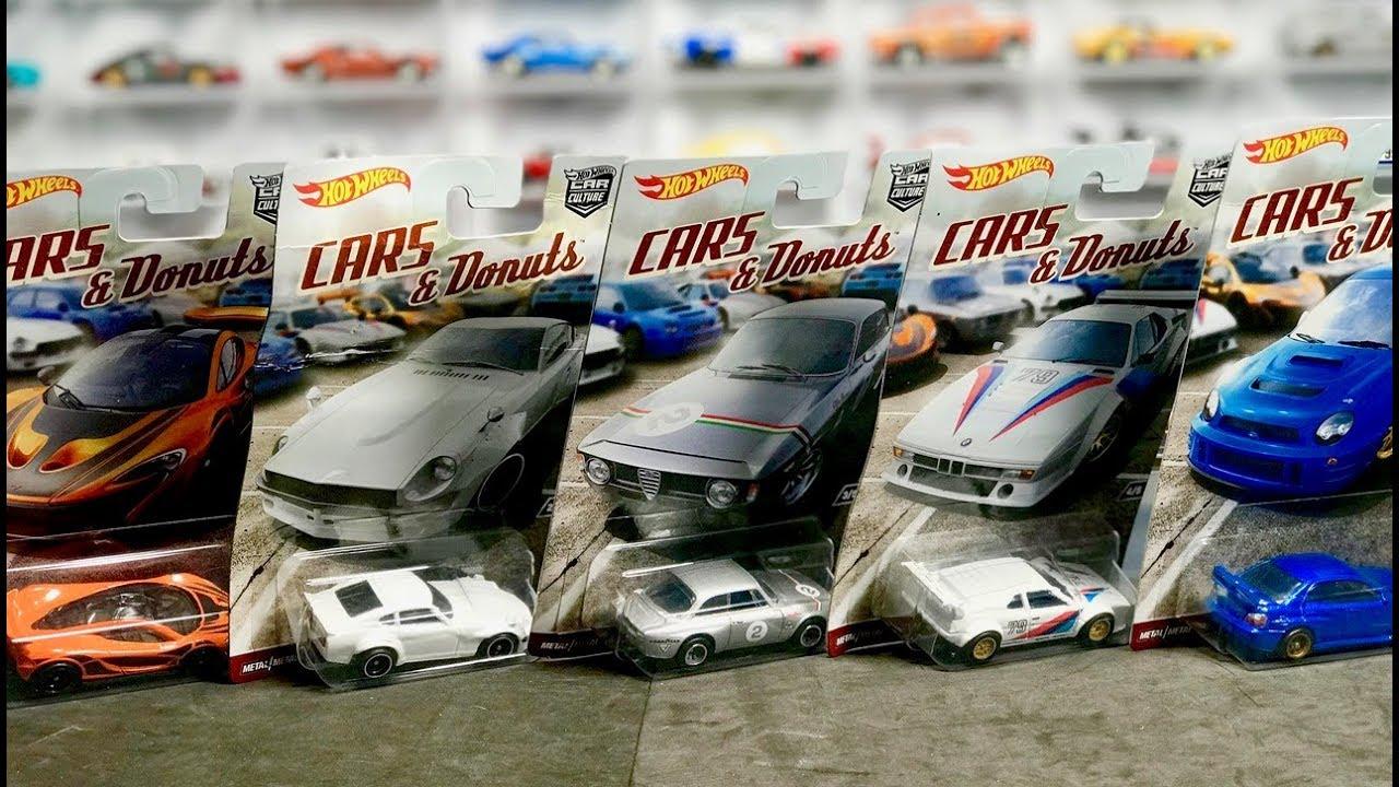 HOT WHEELS CAR CULTURE - CARS & DONUTS