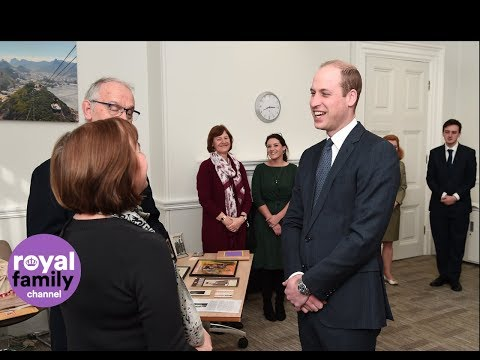 Prince William opens Mayhew Theatre at Foreign Office
