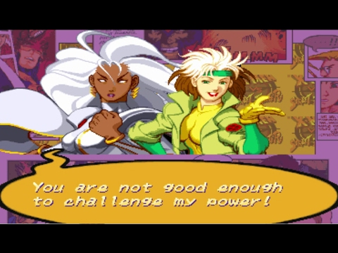 X-Men VS Street Fighter - Storm/Rogue - Expert Difficulty Playthrough