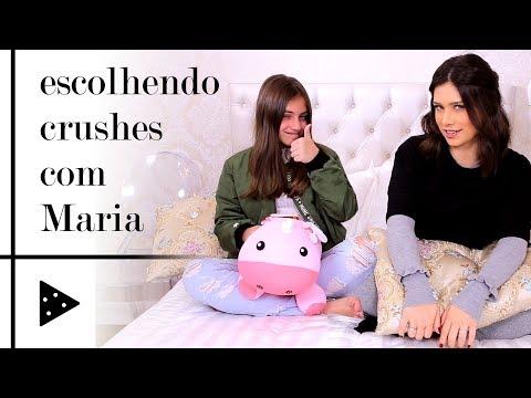 ESCOLHENDO CRUSHES COM AJUDA DA MINHA IRMÃ