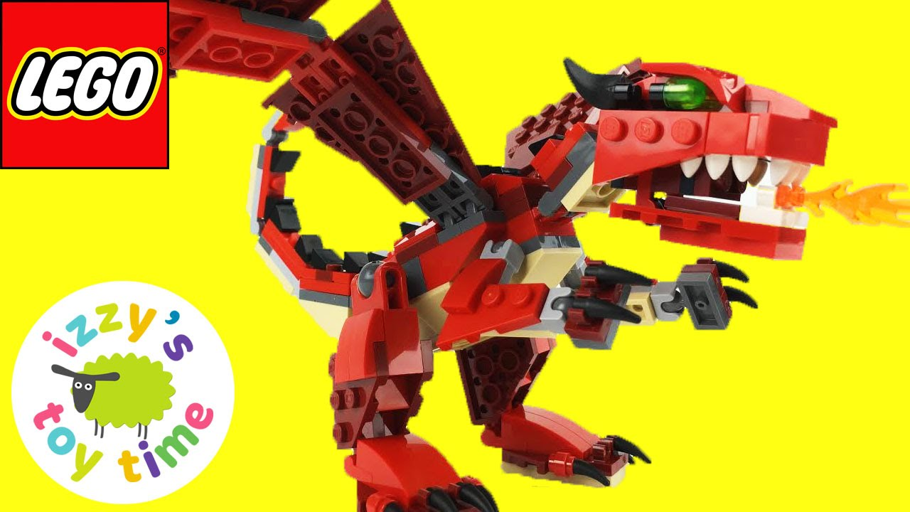Lego Like Toys : Lego toys for kids dragon unboxing family fun