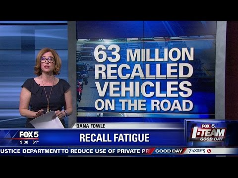 I-Team: Millions of Cars Under Recall on the Road