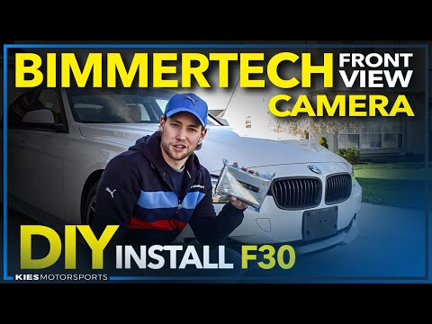 BimmerTech F30 MMI Rear View Camera, Front View Camera and SmartView Install