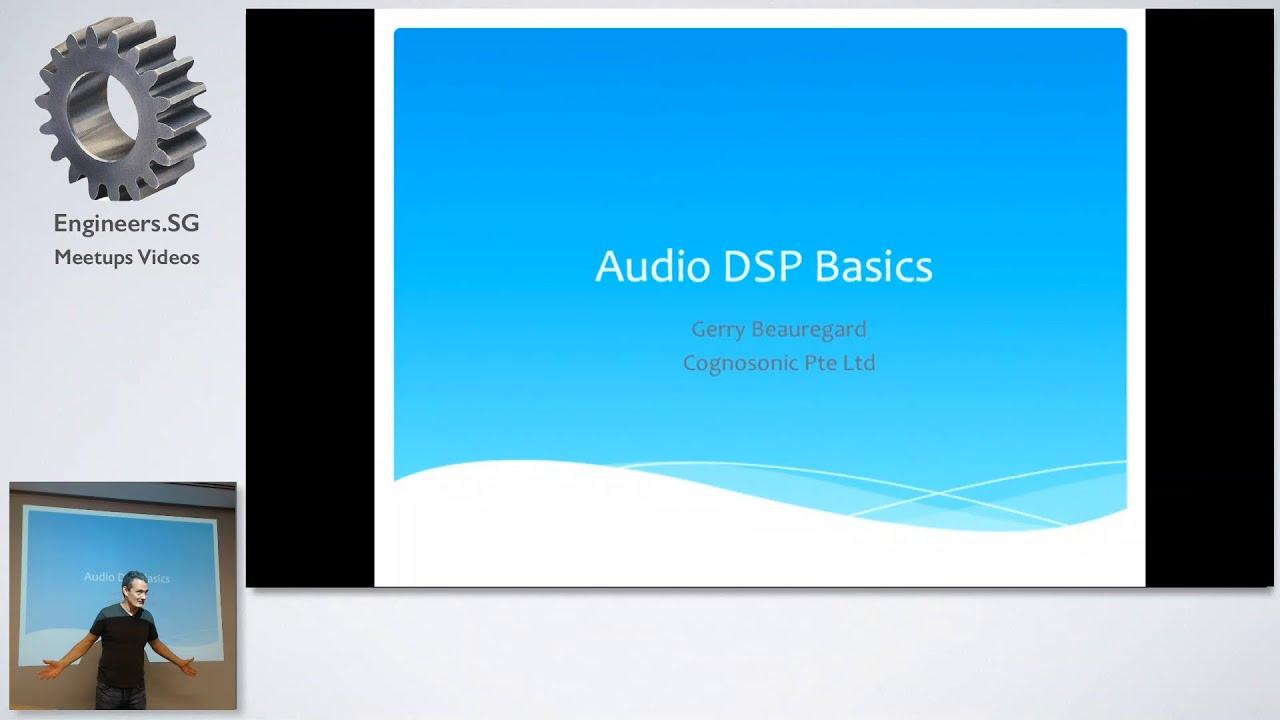 Audio DSP Programming Basics - MusicTech Singapore