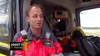 Mee met het traumateam: de hulp van de bemanning kan het verschil betekenen tussen leven en dood.