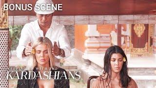Spiritual Guru Tells Khloe and Kourtney What Their Flaws Are | KUWTK Bonus Scene | E!