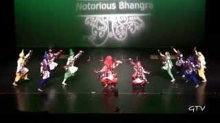 Cal Bhangra Alumni @ Notorious Bhangra 3 (2014)